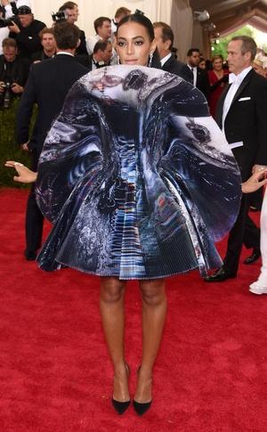 Solange Knowles, Met Gala 2015