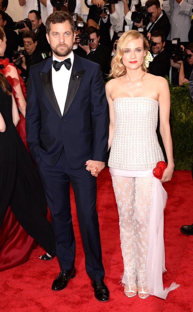 diane kruger joshua jackson from 2015 met gala red carpet couples e news. Black Bedroom Furniture Sets. Home Design Ideas