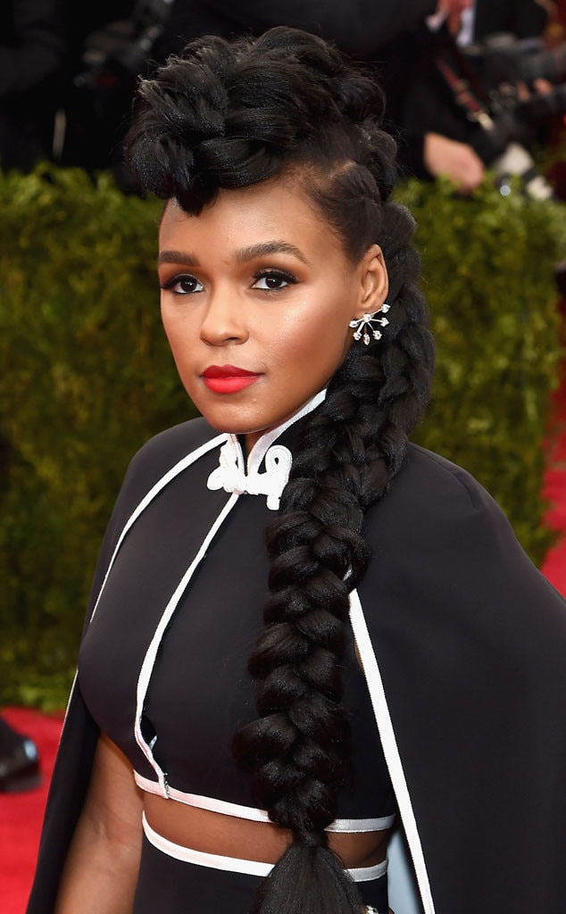 Janelle Monáe's Met Ball Beauty Look Brought True-to-Self ...