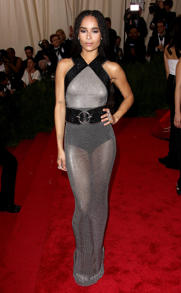 Zoe Kravitz Oscars Bra: Zoë Kravitz From 2015 Met Gala Arrivals