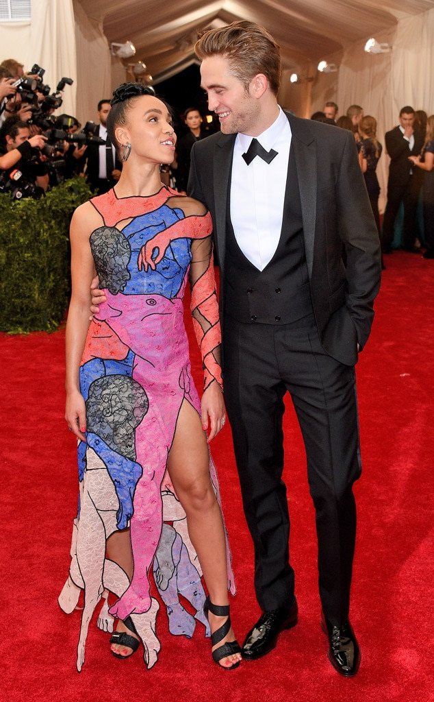 Robert Pattinson, FKA Twigs, Met Gala 2015