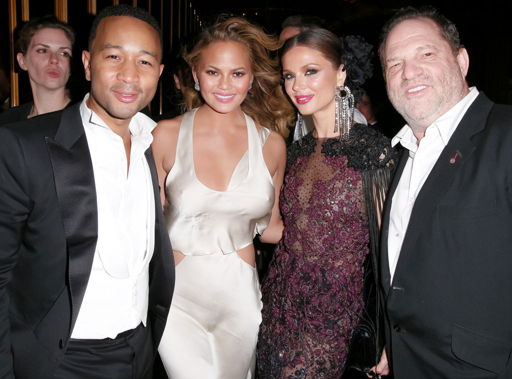 John Legend, Chrissy Teigen, Georgina Chapman, Harvey Weinstein, Met Gala Party