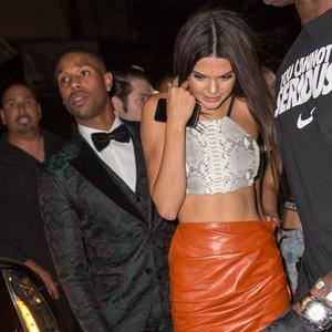 Michael B. Jordan, Tyga and Kendall and Kylie Jenner