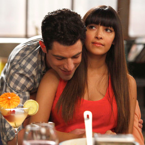 New Girl, Max Greenfield, Hannah Simone