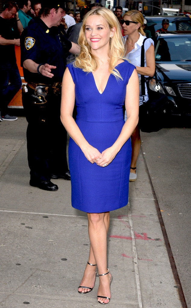 Reese Witherspoon, Letterman