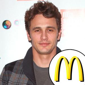 James Franco, McDonald's