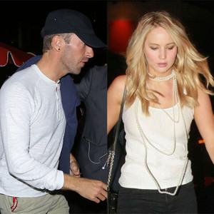 Jennifer Lawrence, Chris Martin