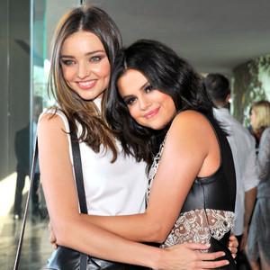 Miranda Kerr, Selena Gomez