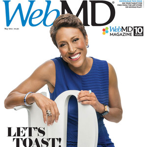 Robin Roberts, WebMD Magazine, EMBARGO until 05/08/15 at 4 a.m.