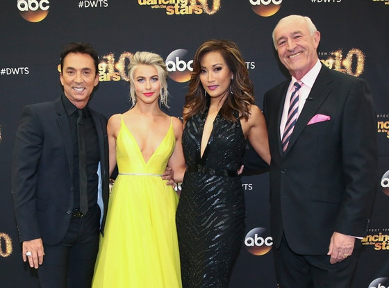 Carrie Ann Inaba, Bruno Tonioli, Len Goodman, Julianne Hough, DWTS