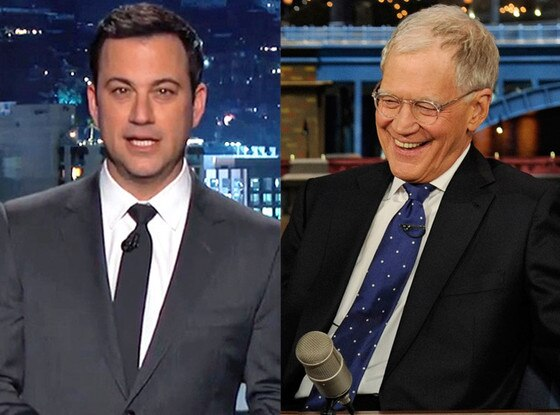 Jimmy Kimmel, David Letterman