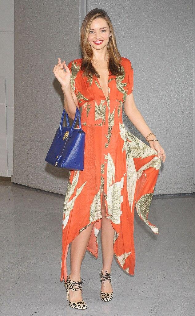 Shake Your Tangerine From Miranda Kerr 39 S Street Style E News