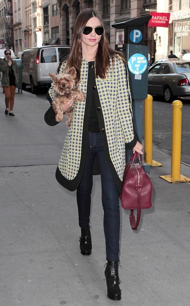 Coat Check From Miranda Kerr 39 S Street Style E News