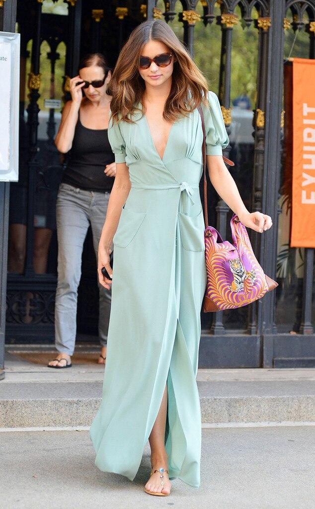 Mint Magic From Miranda Kerr 39 S Street Style E News