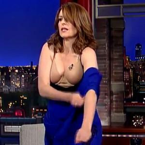 Tina Fey, David Letterman