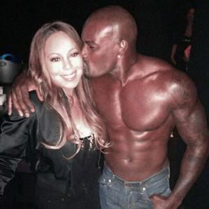 Mariah Carey, Tyson Beckford, Twitter