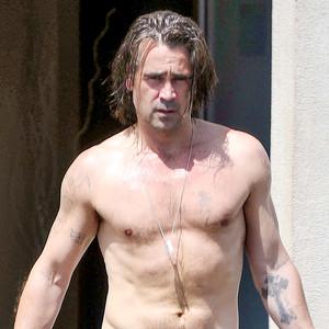 Colin Farrell Is Shirt...