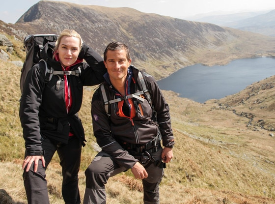 Kate Winslet, Bear Grylls
