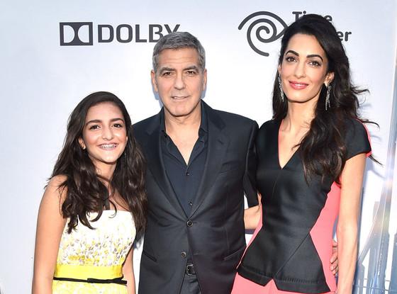 Amal Clooney, Mia Alamuddin, George Clooney