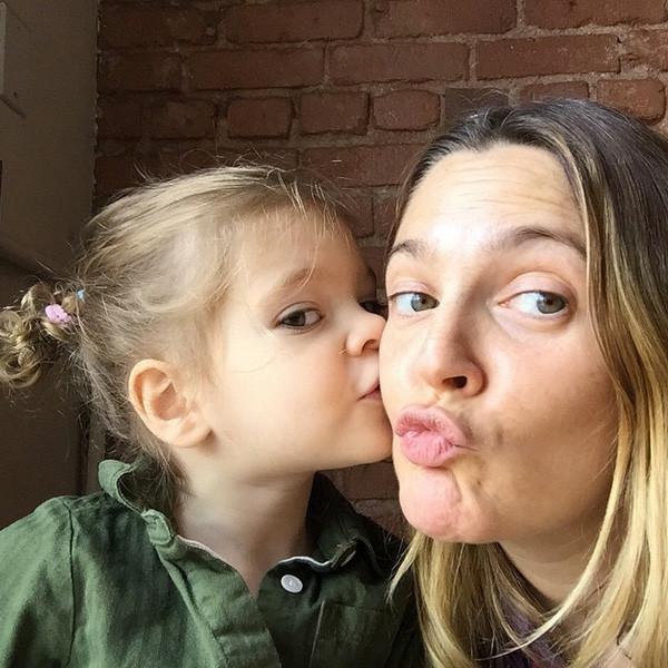 Olive Barrymore Kopelman, Drew Barrymore Instagram