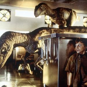 Jurassic Park, Raptors Scene