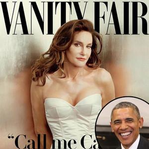 Bruce Jenner, Caitlyn Jenner, Vanity Fair, President Barack Obama