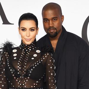 Kim Kardashian, Kanye West, CFDA 2015