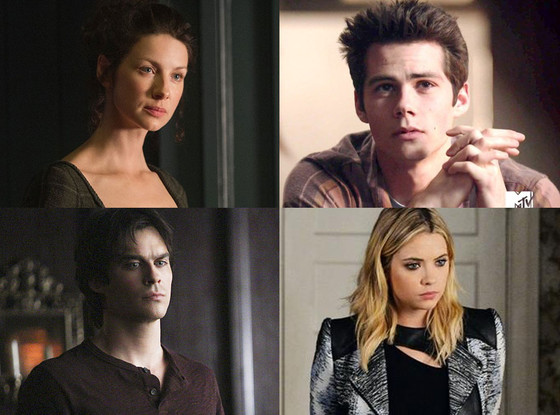 Spoiler Chat, Outlander, Teen Wolf, Pretty Little Liars, The Vampire Diaries