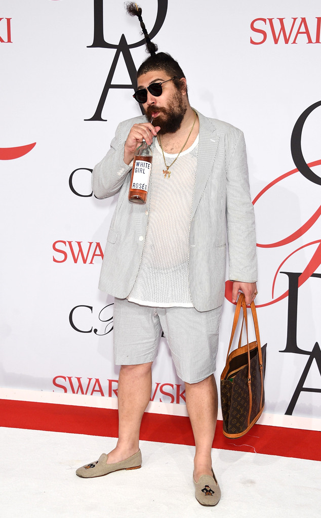 Josh Ostrovsky, The Fat Jewish, CFDA 2015