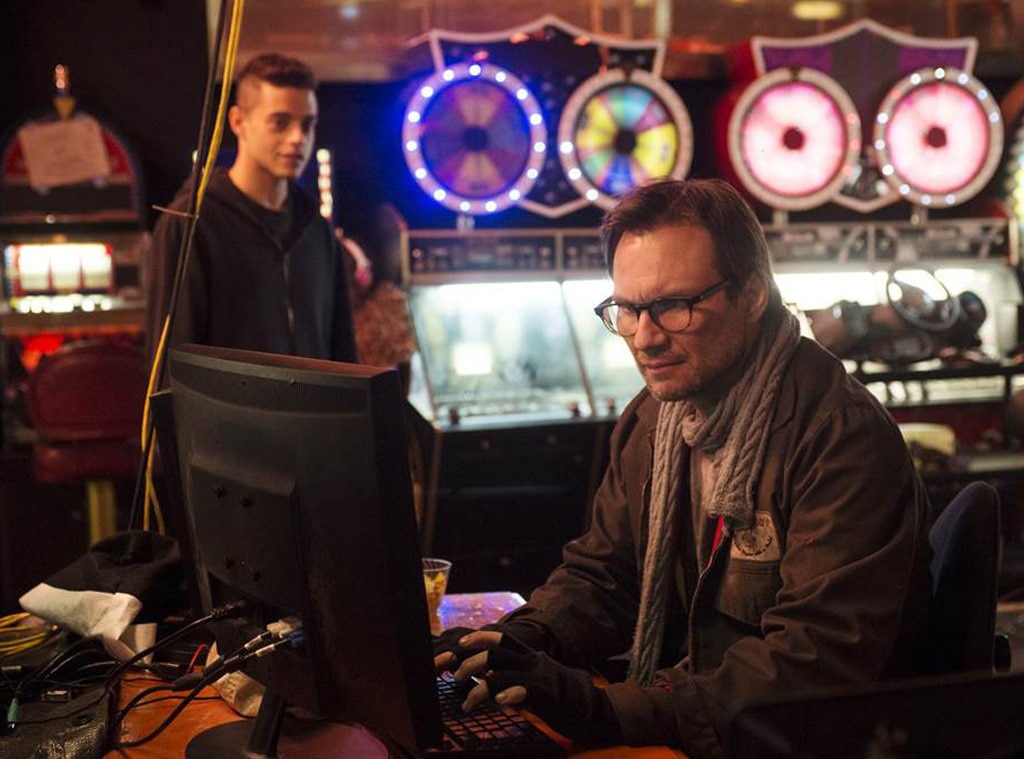 Mr. Robot, Christian Slater, Rami Malek