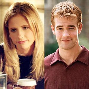 Buffy, Buffy the Vampire Slayer, Dawson's Creek, James Van Der Beek