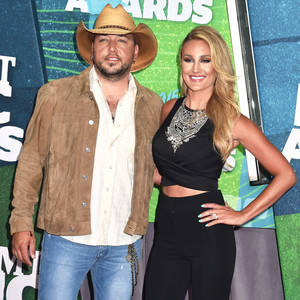 Jason Aldean, Brittany Kerr, CMT Awards