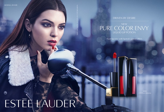kendall jenner s first est e lauder ad is here plus watch