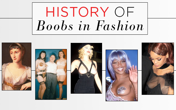 ESC, History of Boobs in Fashion