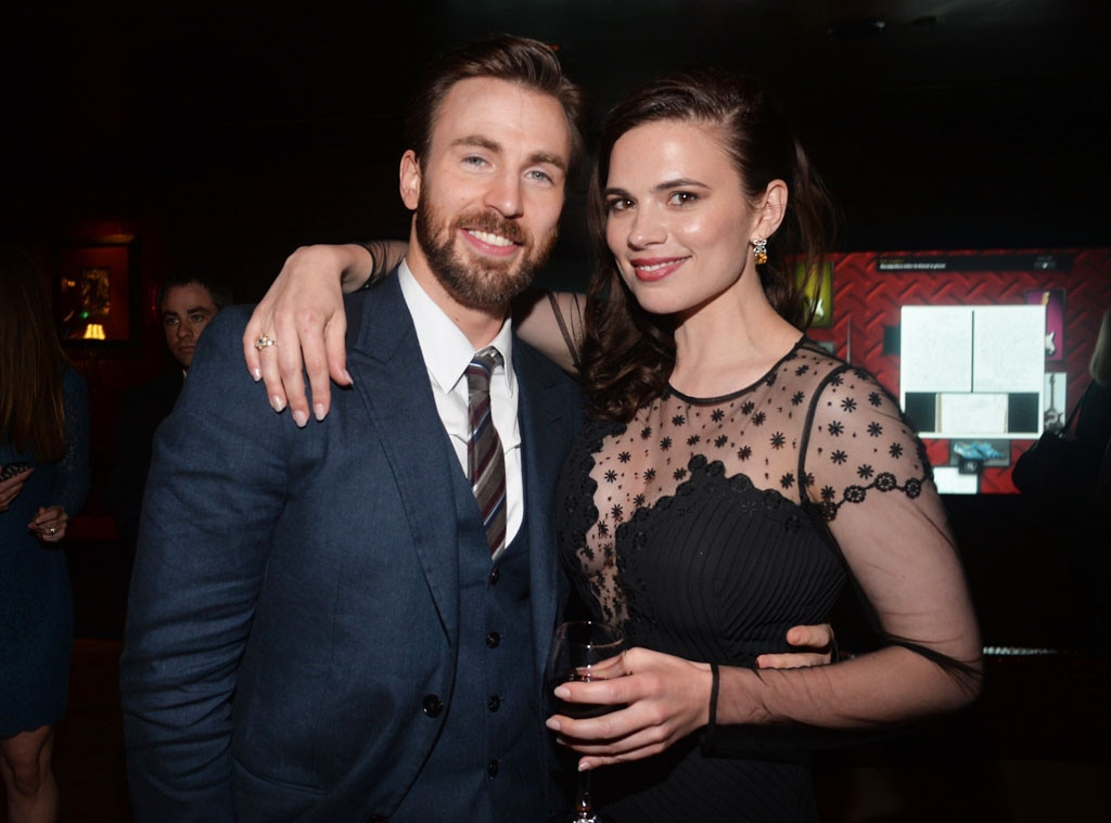 Chris Evans, Hayley Atwell