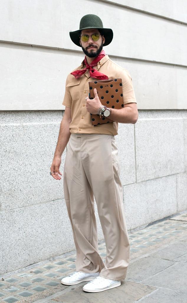 Kadu Dantas From Men 39 S Fashion Week Street Style E News