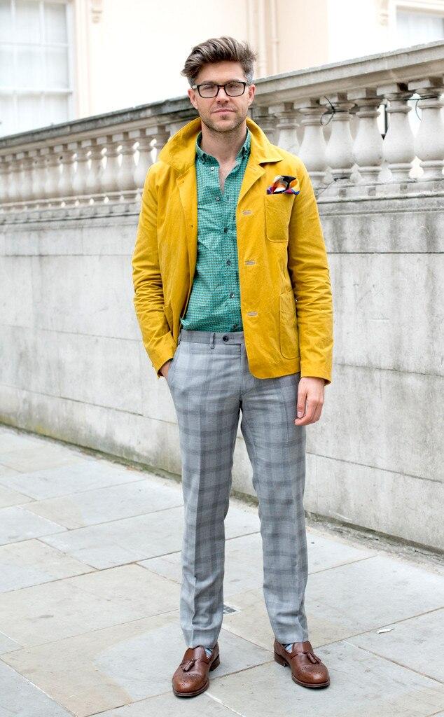 Darren Kennedy From Men 39 S Fashion Week Street Style E News Uk