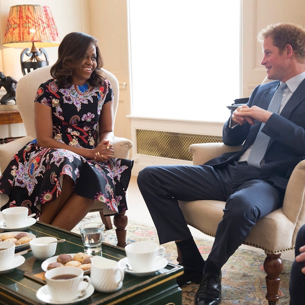 Tea Partying From Prince Harry: Royal And Rugged