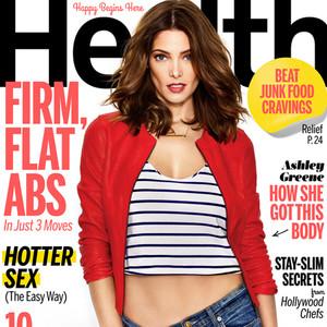Ashley Greene, Health Magazine