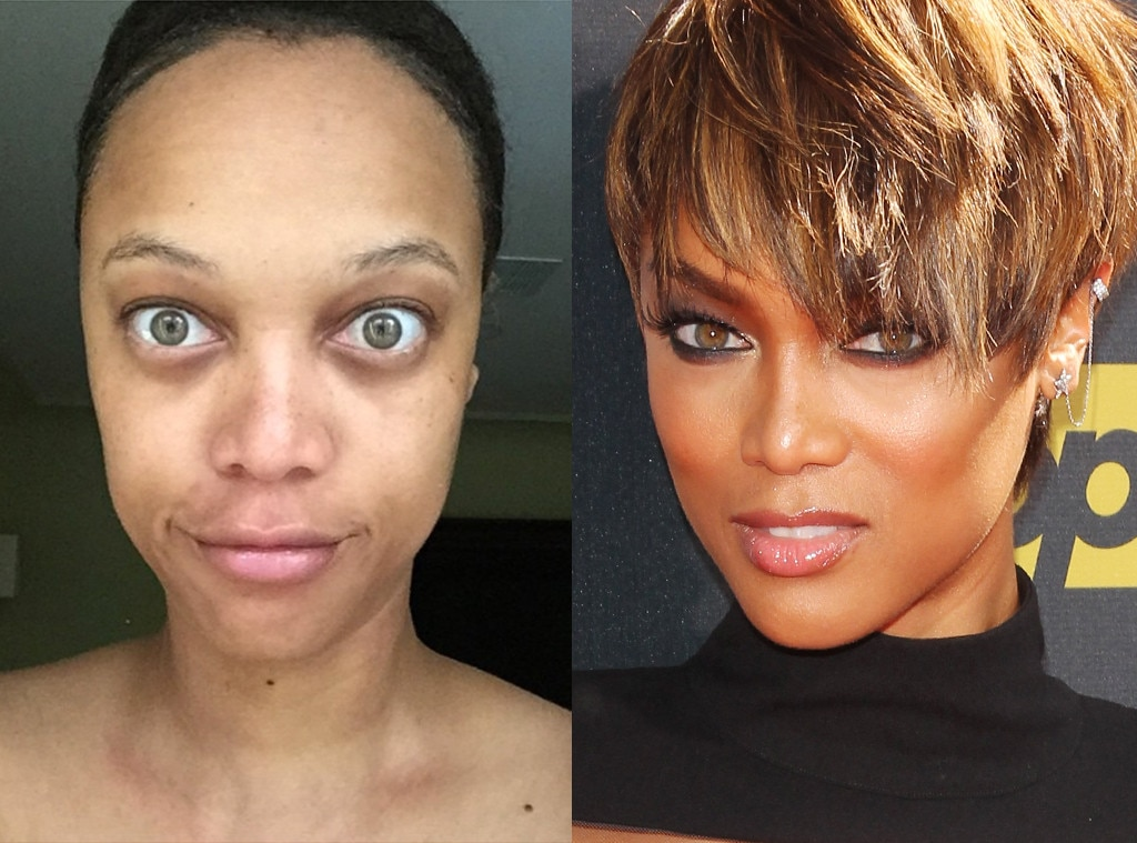 Tyra Banks from Stars Without Makeup : E! News