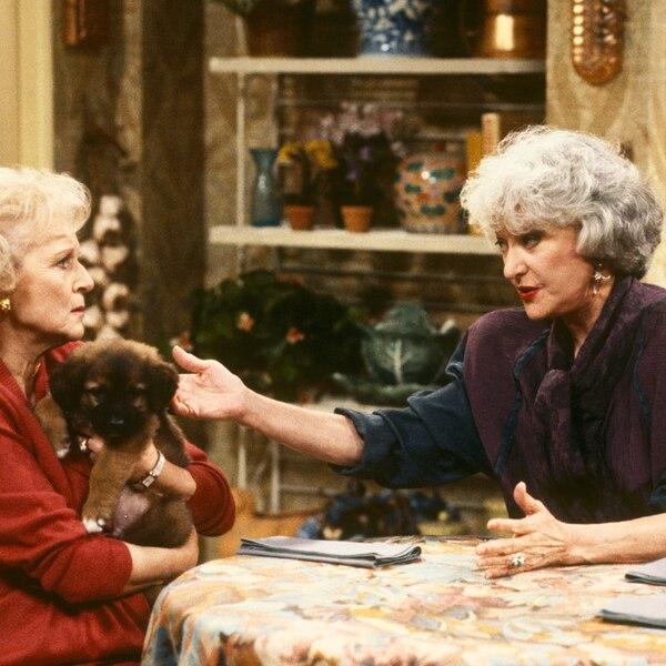 Bea Arthur Betty White Golden Girls From Co Stars Who