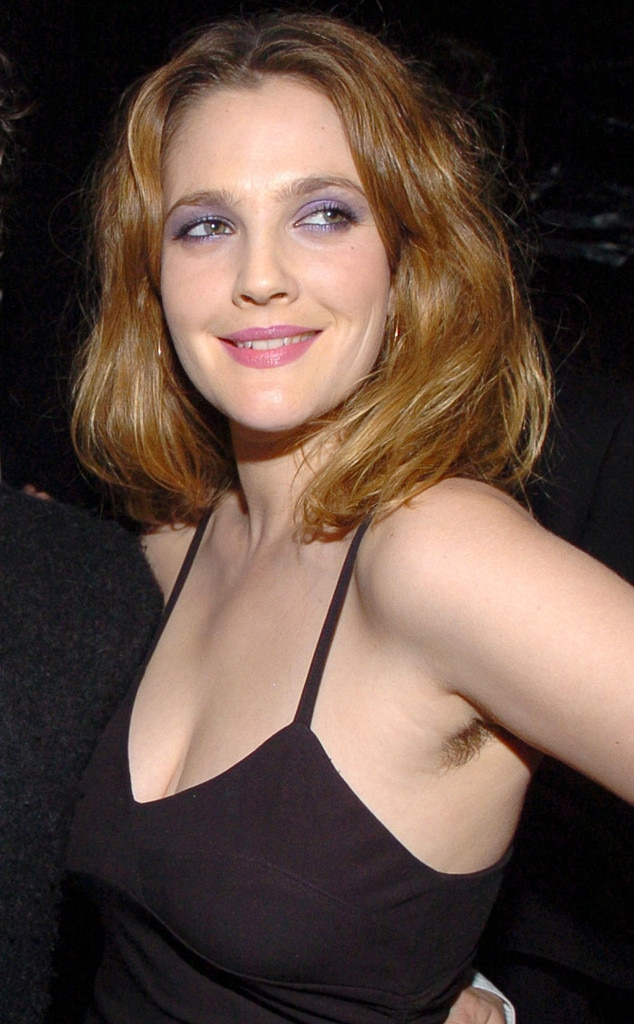 Image result for drew barrymore armpit hair