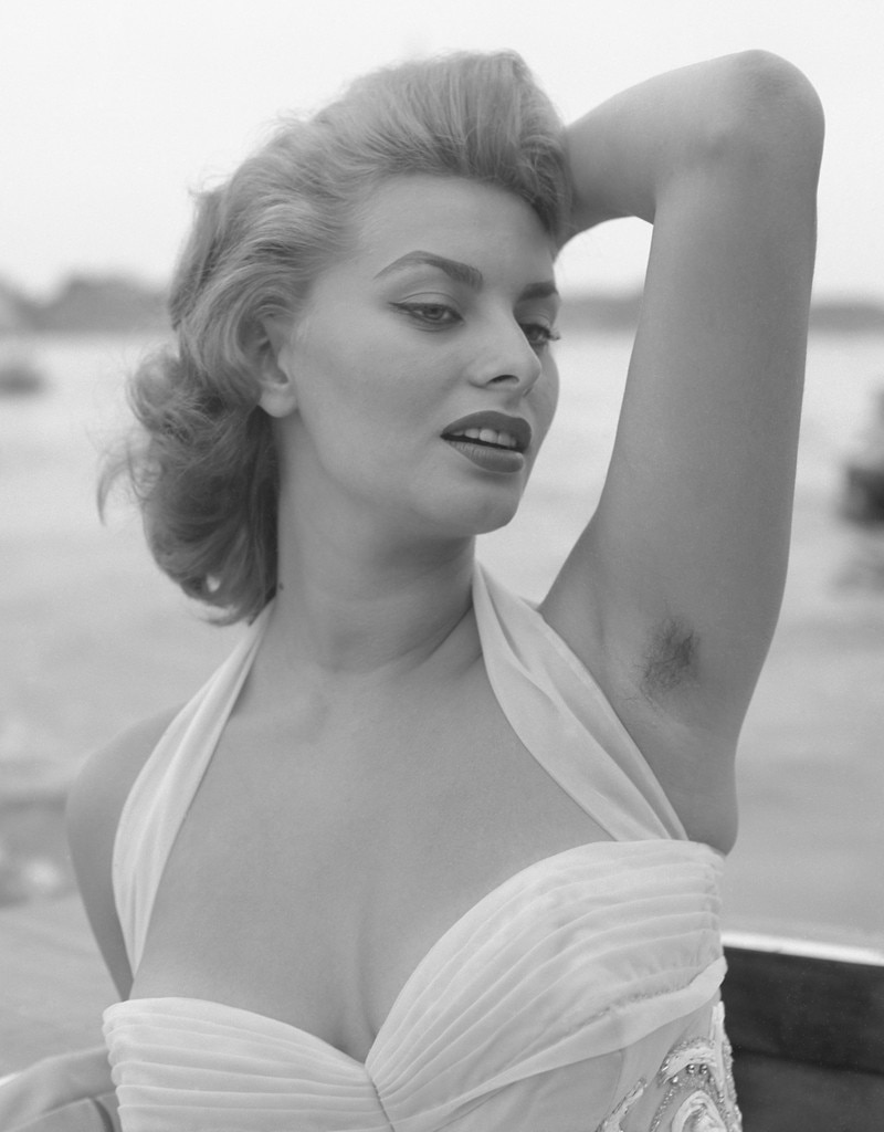 Sophia Loren From Stars With Armpit Hair E News