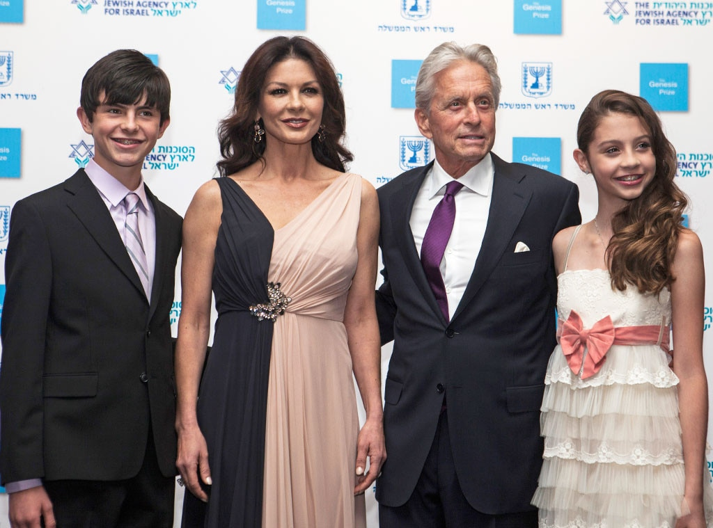 Michael Douglas & Catherine Zeta-Jones' Kids Are All Grown ...