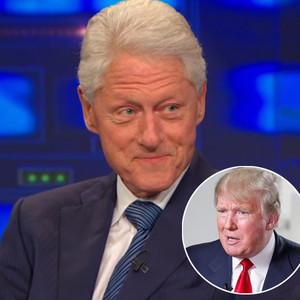 Bill Clinton, The Daily Show, Trump, Good Morning America