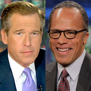 Brian Williams, Lester Holt