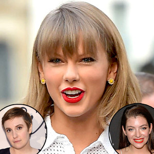 Taylor Swift, Lorde, Lena Dunham
