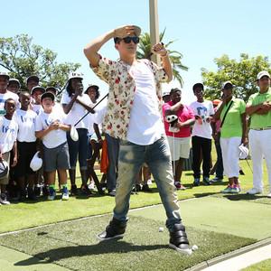 Austin Mahone, Golf Clinic