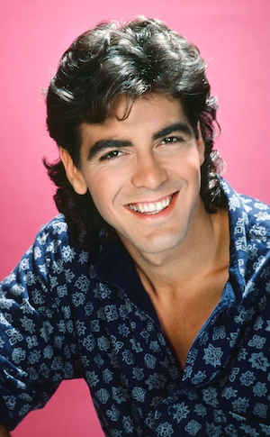 Celebs with Mullets, George Clooney