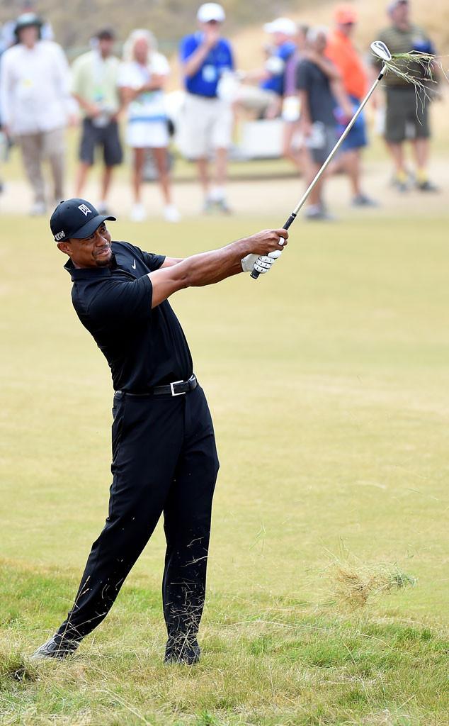 Tiger Woods, U.S. Open Round One
